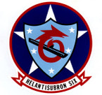 STICKER USN HS 6 HELO ANTI-SUB SQUADRON