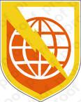 STICKER US ARMY UNIT 9th Signal Command