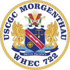 STICKER USCGC WHEC 722 MORGENTHAU