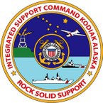 STICKER USCG In-Support-Cmd-Kodiak