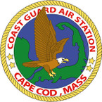 STICKER USCG AIR STATION CAPE COD