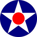 STICKER USAF VET US ARMY AIR CORPS OLD STAR 4.5inP