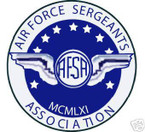 STICKER USAF VET SERGEANTS ASSOCIATION