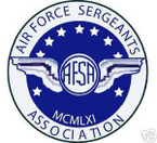 STICKER USAF VET SERGEANTS ASSOCIATON