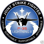 STICKER USAF VET F-35 JOINT STRIKE FIGHTER 2