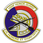 STICKER USAF VET Air Force Honor Guard