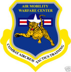 STICKER USAF US Combat Aircrew Tactics Training