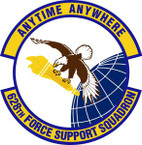 STICKER USAF 628 Force Support Squadron Emblem