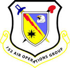 STICKER USAF UNIT 152 AOG