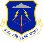 STICKER USAF  633rd Air Base Wing Emblem