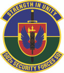 STICKER USAF  502 Security Forces Squadron Emblem