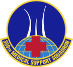 STICKER USAF  359th Medical Support Squadron