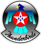 STICKER USAF THUNDERBIRDS B