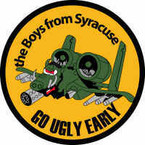 STICKER USAF The Boys From Syracuse