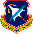 STICKER USAF TEST PILOT SCHOOL