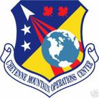 STICKER USAF Cheyenne Mountain Operations Center