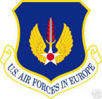 STICKER USAF Air Forces in Europe