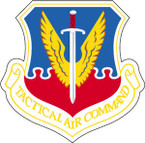 STICKER USAF AIR FORCE TACTICAL AIR COMMAND