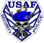STICKER USAF Air Force Security Police B