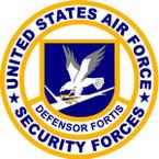 STICKER USAF Air Force Security Defensor Fortis A