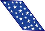 STICKER USAF AIR FORCE SAC MILKY WAY B