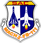 STICKER USAF AIR FORCE SAC FB111