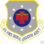 STICKER USAF Air Force Medical Operations Agency
