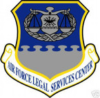STICKER USAF Air Force Legal Services Center