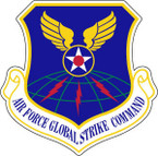 STICKER USAF AIR FORCE GLOBAL STRIKE COMMAND