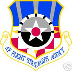 STICKER USAF AIR FORCE FLIGHT STANDARDS AGENCY