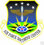 STICKER USAF AIR FORCE DOCTRINE CENTER