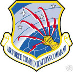 STICKER USAF Air Force Communications Command