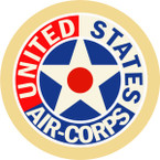 STICKER USAF AIR CORPS