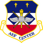 STICKER USAF AIR AND SPACE EXPEDITIONARY FORCE CENTER