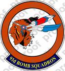 STICKER USAF 93rd BOMB SQUADRON