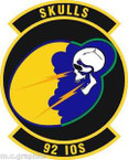 STICKER USAF 92nd Information Operations Squadron Emblem