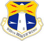 STICKER USAF 920TH RESCUE WING