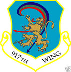 STICKER USAF 917TH WING