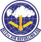 STICKER USAF 912th Air Refueling Squadron Emblem