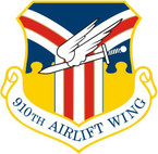 STICKER USAF 910TH AIRLIFT WING