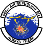 STICKER USAF 909th Air Refueling Squadron Emblem