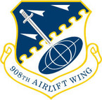 STICKER USAF 908TH AIRLIFT WING