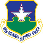 STICKER USAF 902ND MISSION SUPPORT GROUP