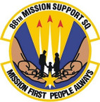 STICKER USAF 88TH MISSION SUPPORT SQUADRON