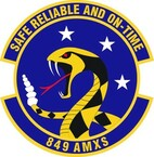 STICKER USAF 849th Aircraft Maintenance Squadron Emblem