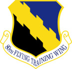 STICKER USAF 80TH FLYING TRAINING WING