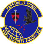 STICKER USAF 802nd Security Forces Squadron Emblem