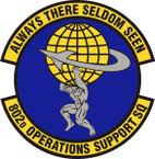 STICKER USAF 802nd Operations Support Squadron Emblem