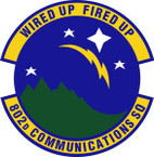 STICKER USAF 802nd Communications Squadron Emblem