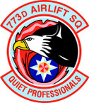 STICKER USAF 773rd Airlift Squadron